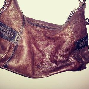 Stone Mountain leather purse/shoulder bag